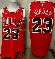 "MICHAEL JORDAN Chicago Bulls NIKE Authentic ""LAST SHOT"" Box Collection Jersey 52"