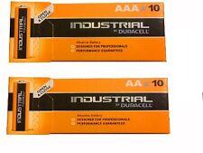 50 X AAA + 50 X AA Duracell Industrial Procell Alkaline Batteries LR3 LR6
