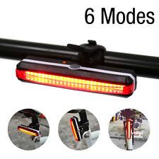 LED vélo bicyclette rouge feu arrière lumière lampe usb rechargeable étanche ME