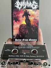 BODYBAG PAINS FROM NAUSEA DEMO DEATH GRIND METAL CASSETTE TAPE 1995 PORTLAND
