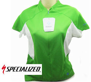 - New - Specialized Women's Short Sleeve Cycling Shirt Green- Size XS