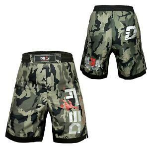 DEFY New MMA Boxing X-Treme Shorts Gym Muay Thai UFC Cage Fight BJJ Grappling