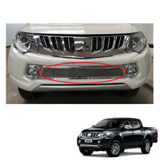 For Mitsubishi Pickup L200 Triton on 2015 - 2017 Front Lower Grill Grille Chrome