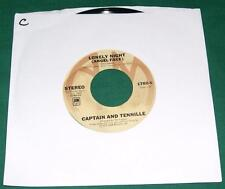 CAPTAIN AND TENNILLE - Lonely Night / Smile For Me One More Time (45 RPM) VG+