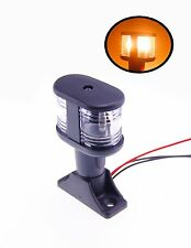 Pactrade Marine Pontoon 3 7/8''Anchor Stern Light  Up to 20M Festoon Bulb 12V 8W