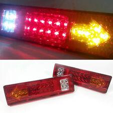 2x Bremslicht Anhänger LKW Rückleuchten Ruecklicht Heckleuchten 19 LED Rücklicht