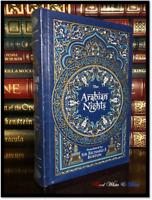 The Arabian Nights Richard Burton Illustrated Sealed Leather Bound Gift Hardback