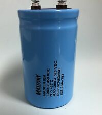 Capacitor 1000uf 450 VDC Mallory Electrolytic 1000mfd