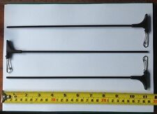 Pack of 3 , Long Plastic Tube Booms