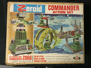 ZEROID COMMANDER ACTION SET 1969 IDEAL WITH BOX C 4.0
