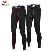 Men's Thermal Fleece Winter Cycling Pants Warm Tights Base Layer Sport Underwear