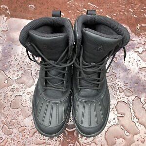 Nike Woodside II ACG Triple Black Boots Men's Size 9 Waterproof 525393-090
