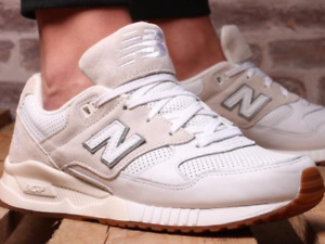 New Balance 530 M530ATA OFF WHITE AND GUM TRAINERS BRAND NEW BOXED