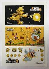 Super Mario Bros. 2 Nintendo 3DS Stickers