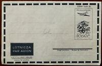 Polish Lotnicza Par Avion Poczta Lotnicza Air Mail Envelope 1958