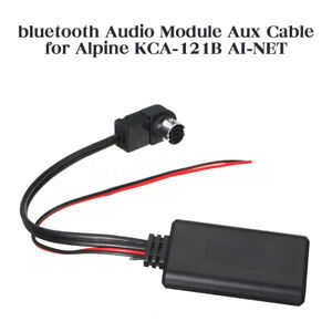 bluetooth Wireless Audio module Aux cable for Alpine KCA-121B AI-NET iPod iPhone