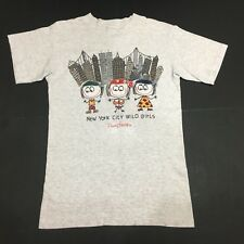 VINTAGE DANNY FIRST NEW YORK CITY WILD BOYS SEWN ON BANDANNAS GRAY T-SHIRT