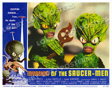 INVASION OF THE SAUCER MEN LOBBY SCENE CARD # 1 POSTER 1957