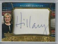 Decision 2016 Hillary Clinton Cut Signature Auto Autograph