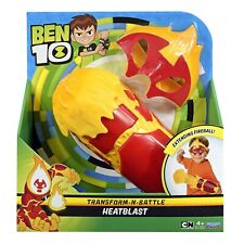 Ben 10 Transform-N-Battle HEATBLAST Dressing Up Roleplay Costume Playset