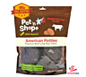 Pet 'N Shape American Beef Patties Dog Treat Made and Sourced in the USA, 1-lb
