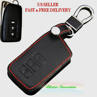 Genuine Leather Key Holder For Lexus Remote Smart Key 3 & 4 Buttons RX IS LS ES