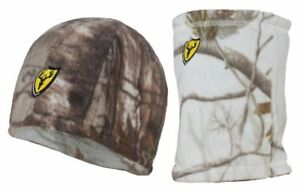 ScentBlocker Reversible Beanie and Gaiter Realtree Xtra and AP Snow