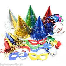 30 Piezas Color Multi Super valor Feliz Año Nuevo Party Supplies Kit 10 Invitados