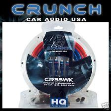 * CRUNCH CR-35WK Kabelset 35 mm² für  Endstufe Verstärker ~~~