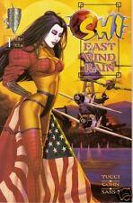 SHI: EAST WIND RAIN #1 Fi+ (Crusade, 1997) Original Comic Book