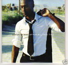 (B20) Simon Webbe, After All This Tme - DJ CD