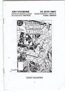 Catalogue Vente aux Enchères BD 22 JUIN 2007 Rossini