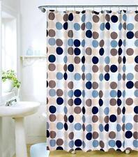 Rideau de douche en tissu Circle DOT 180x180 cm cloison Rideau incl. anneaux