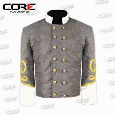 Civil war American Confederate Generals Shell jacket,with Off white collar cuff