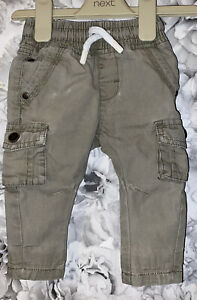 Boys Age 3-6 Months - Next Cargos Trousers