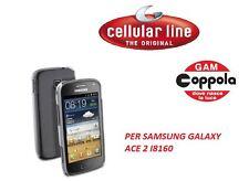 COVER CELLULARE PER SAMSUNG GALAXY ACE 2 I8160 CELLULARLINE RIGIDA TRASPARENTE