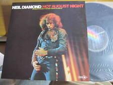 "NEIL DIAMOND HOT AUGUST NIGHTS VINYL LPS DOUBLE RECORD 12"""