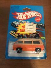 1979 Vintage Hot Wheels SUNAGON Volkswagen Van w/BIKE Roof Open Hong Kong New