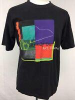 VTG 1996 Steely Dan Art Crimes Tour Mens Black T Shirt sz L 90s