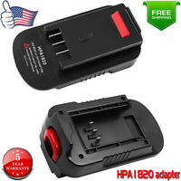 20Volt HPA1820 Battery Adapter For Black & Decker 20V To 18V NiCd & NiMh Tools
