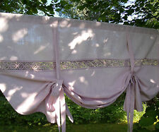 Raff Gardine LINA Rosa 140x120cm Shabby Chic LillaBelle Landhaus Vintage Curtain