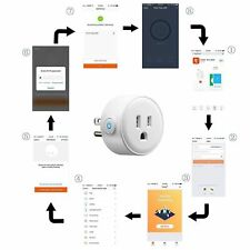 US Plug WIFI Wireless Smart APP Remote Control Timer Socket Home Automation