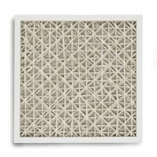 Zentique Zen22165D Abstract Paper Framed Art 23.625 x 23.625 x 1.75 in.