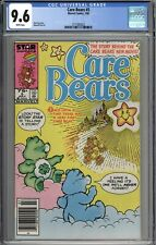Care Bears #5 CGC 9.6 NM+ Newsstand Variant WHITE PAGES