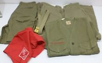 VINTAGE 1950's Official Boy Scouts of America Uniform Elkhart Indiana 72