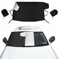 Auto Scheibenabdeckung Windschutzscheibe Rückspiegel Abdeckung für Schnee, EIS