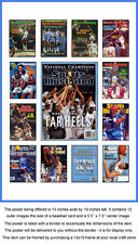 North Carolina Tar Heels Sports Illustrated Cover Collection Poster UNC