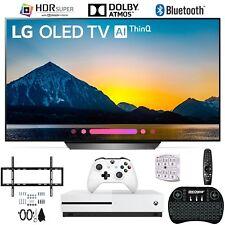 "LG OLED55B8PUA 55"" Class B8 OLED 4K AI Smart TV Xbox One S and Wall Hang Bundle"