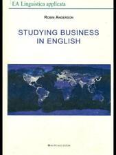 STUDYING BUSINESS IN ENGLISH  ROBIN ANDERSON ARCIPELAGO EDIZIONI 2004