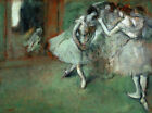 A Group Of Dancers Edgar Degas CANVAS Print HQ Giclee Repro Poster Small 8x10